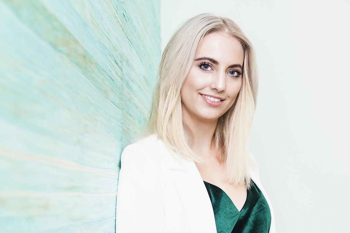 Suzanne van den Berg van Beautysalon Suuz uit Uden poseert