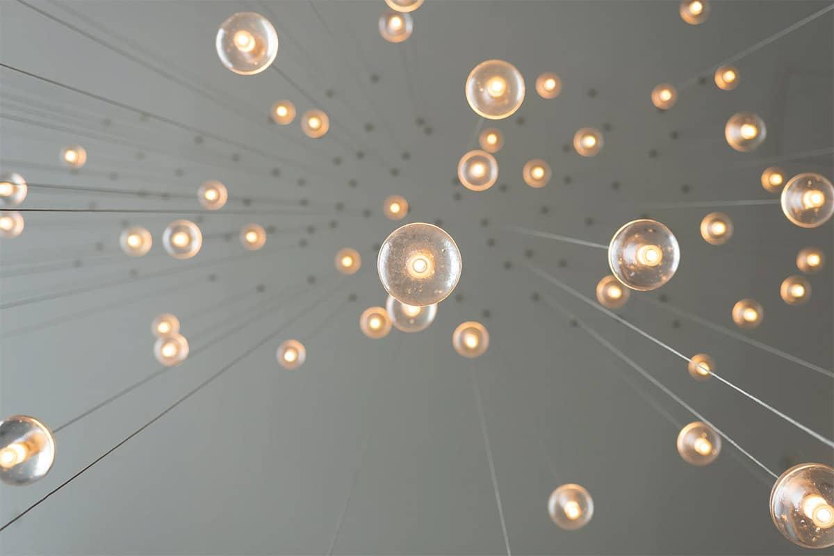 Verschillende composities van licht